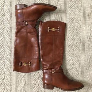 Tory Burch Knee High Riding Boots